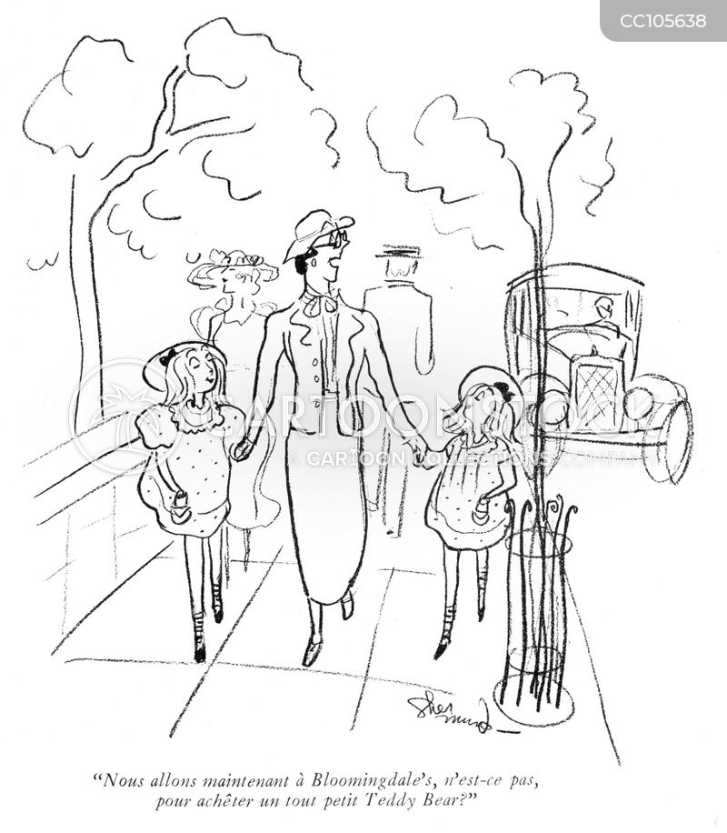 1920s Famility cartoon