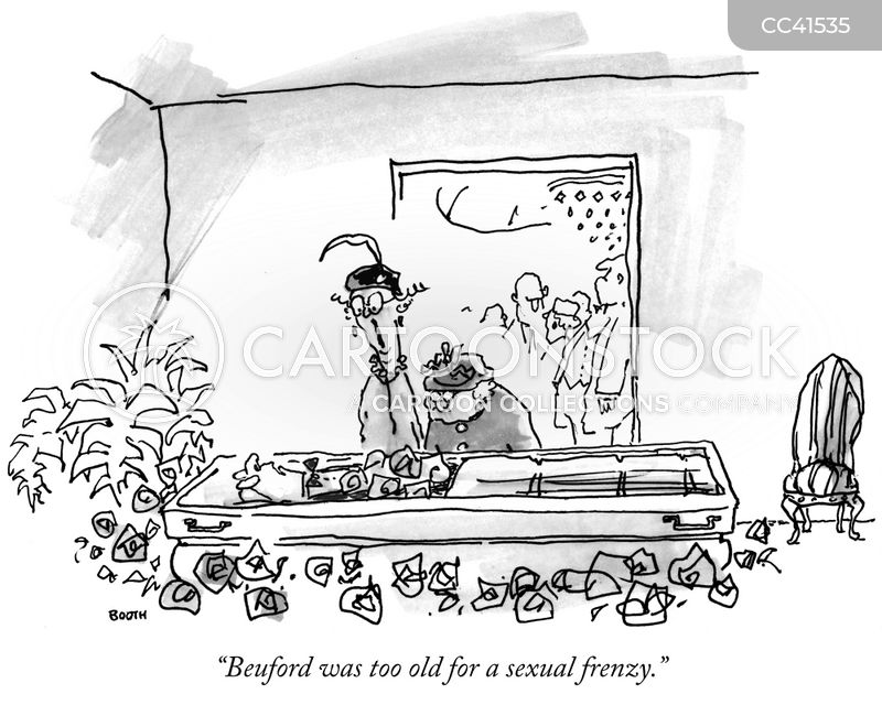 elderly cartoon
