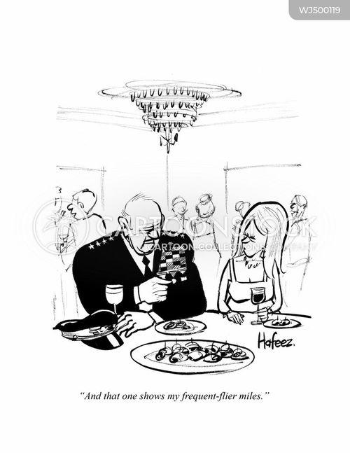 frequent-flyer cartoon