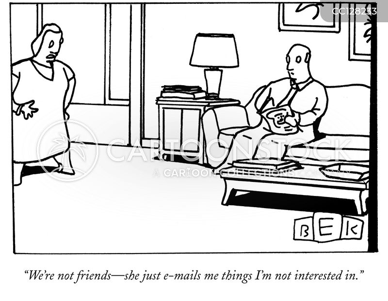 e-mail cartoon