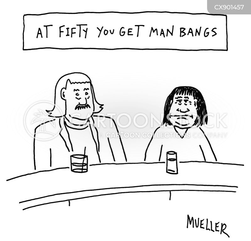 bangs cartoon