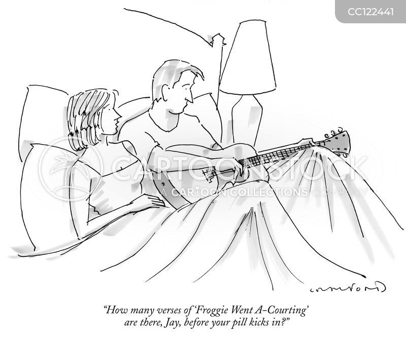 folk song cartoon
