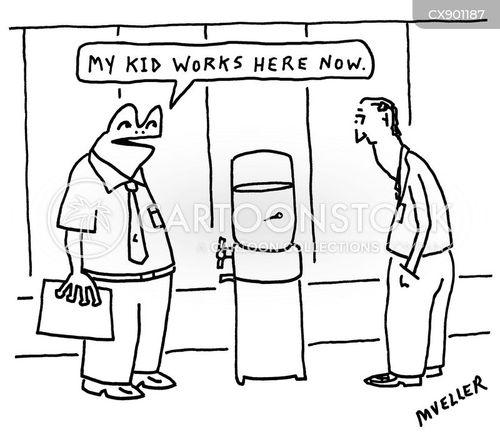water cooler cartoon