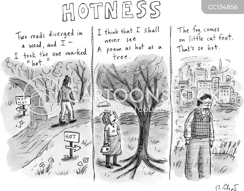 road less travelled cartoon