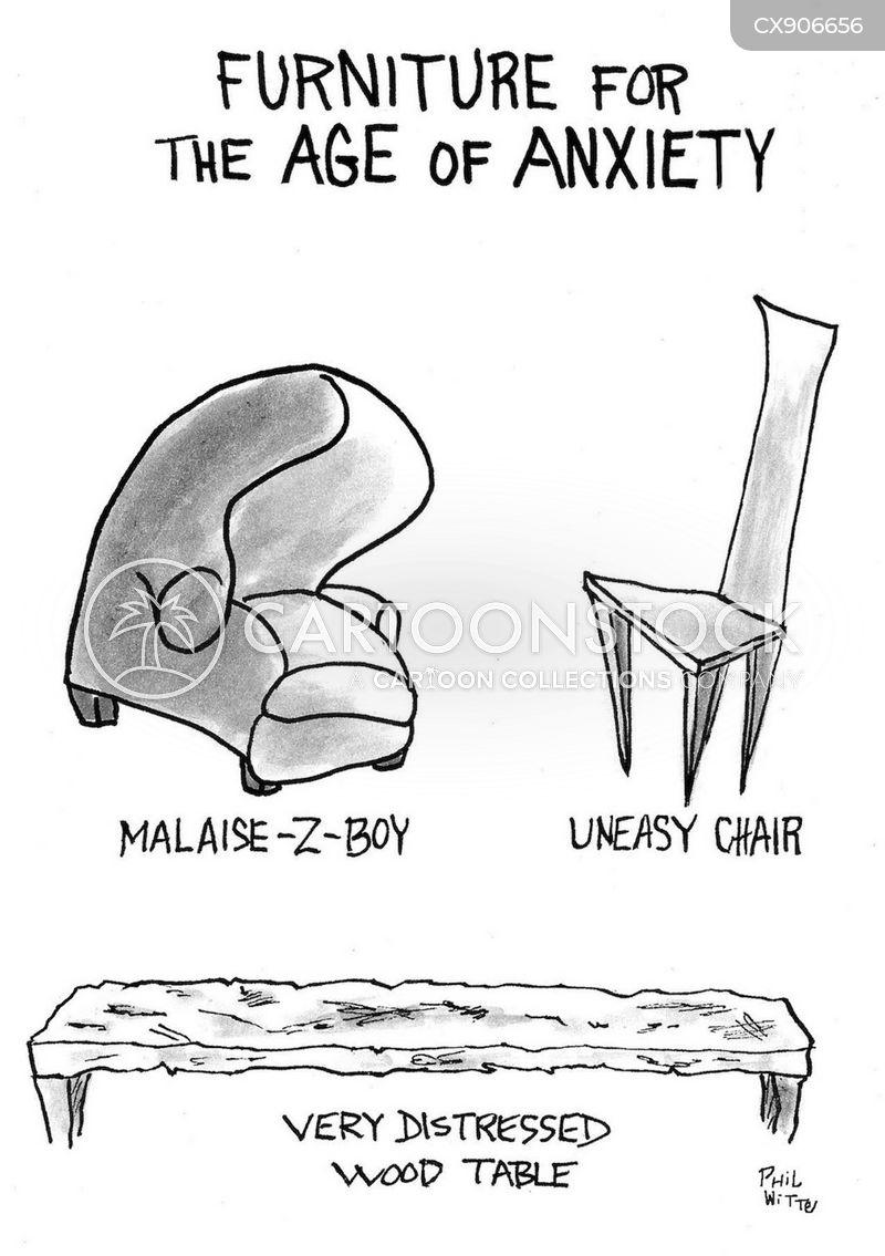recliner cartoon