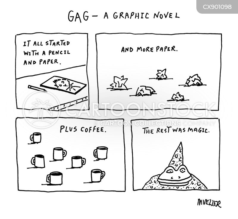 gag cartoon
