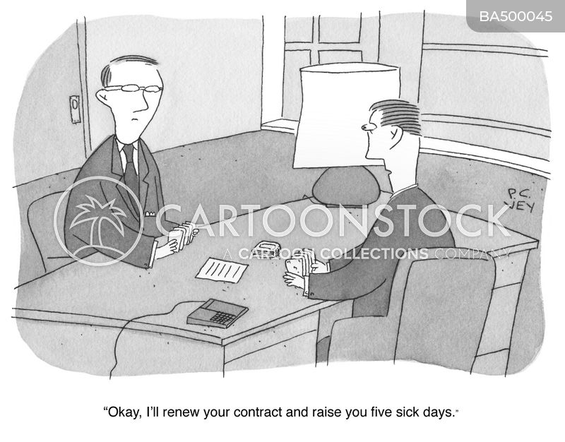 contract law cartoon