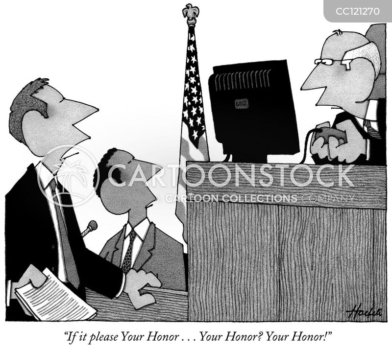 Your Honor cartoon