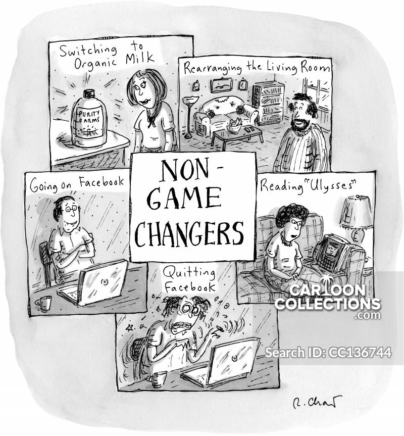 Non-game Changers cartoon