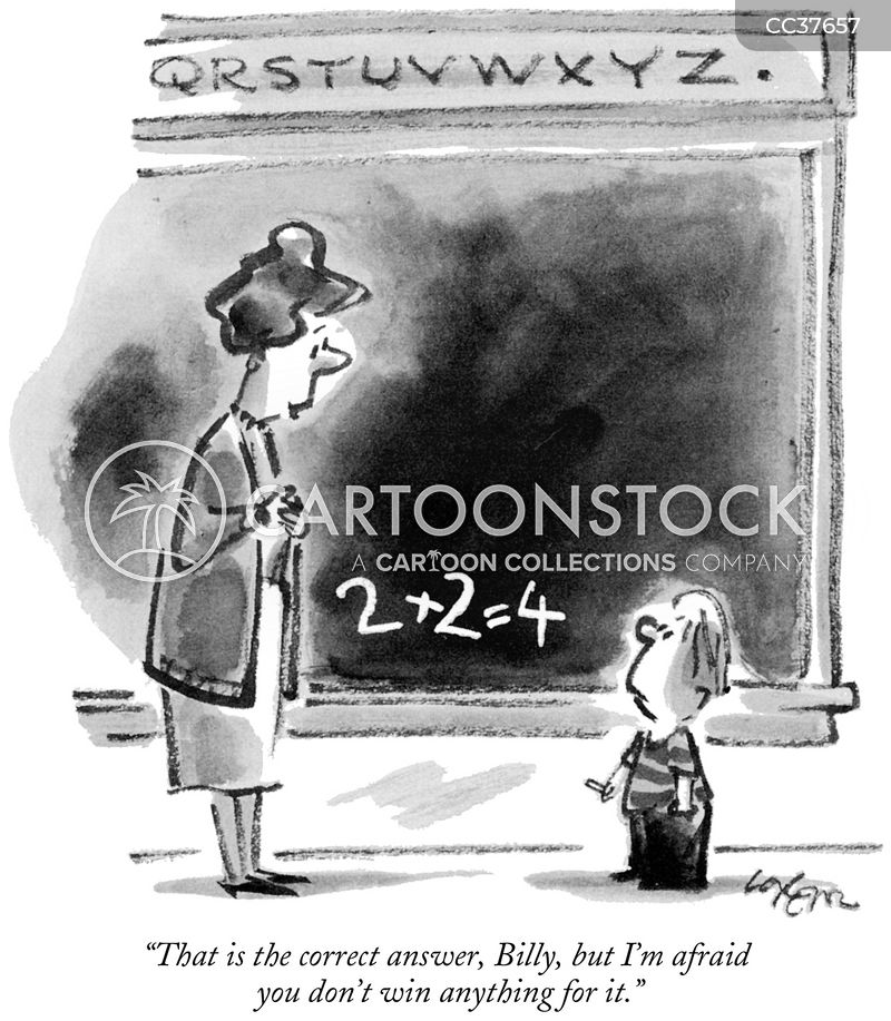 teachers cartoon