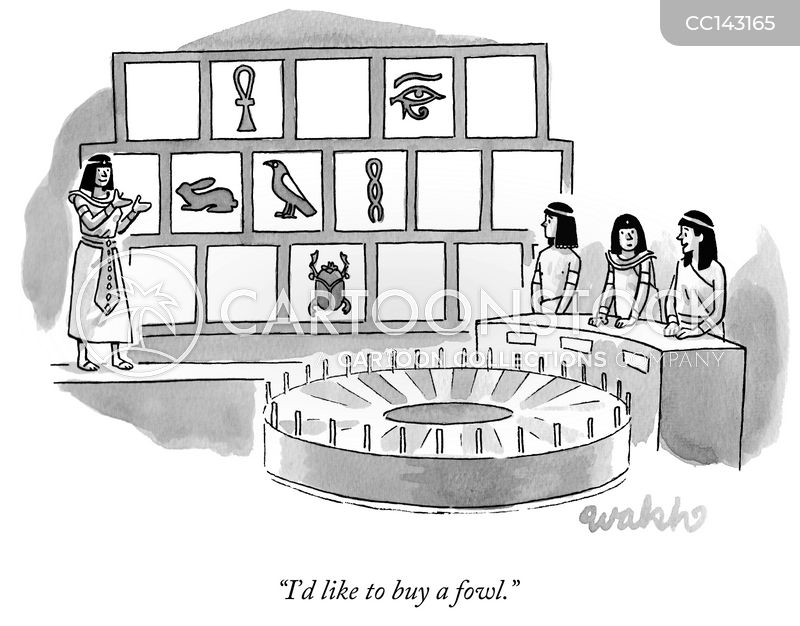 ancient egypt cartoon