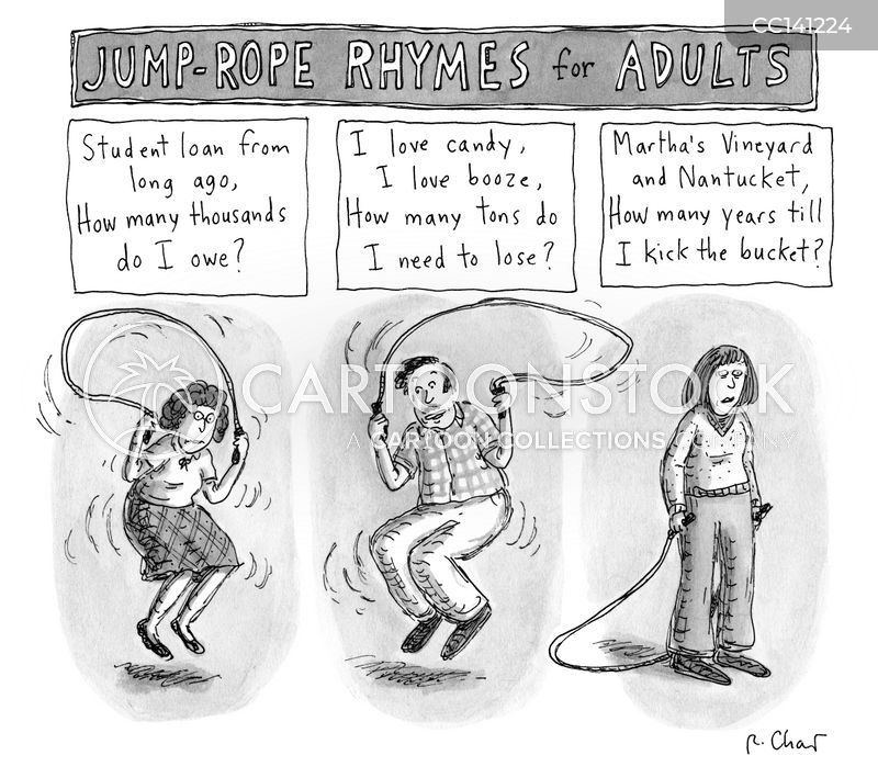 jump-rope cartoon