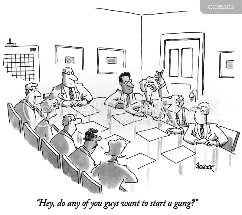 Corporate Environments cartoon