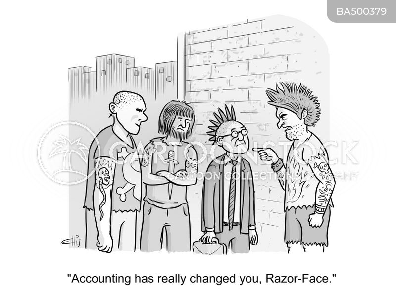 account cartoon