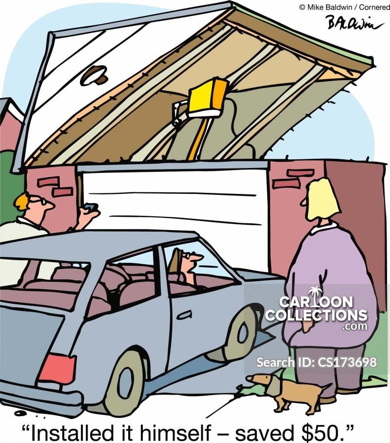 instalation cartoon