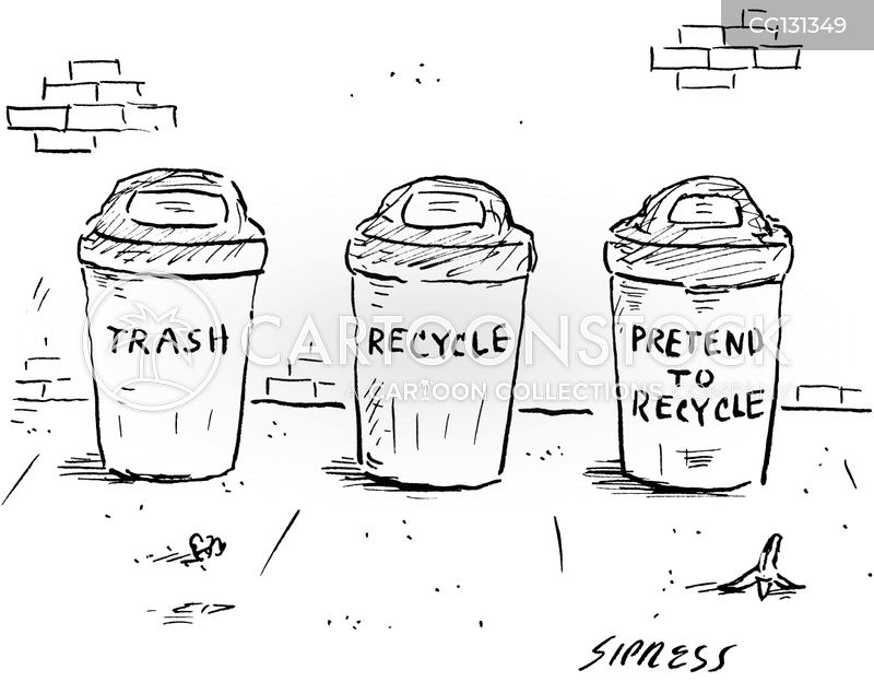 Rubbish cartoon