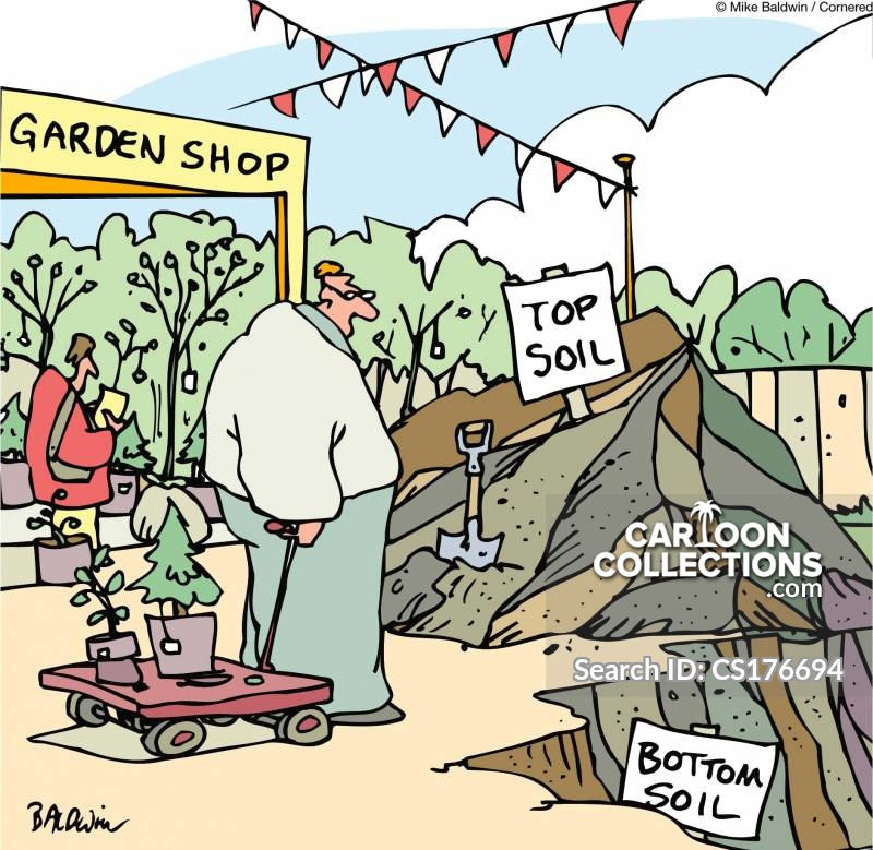 top soil cartoon