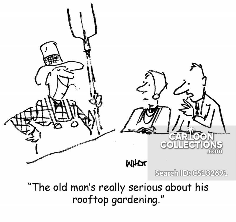 Rooftop Gardens cartoon