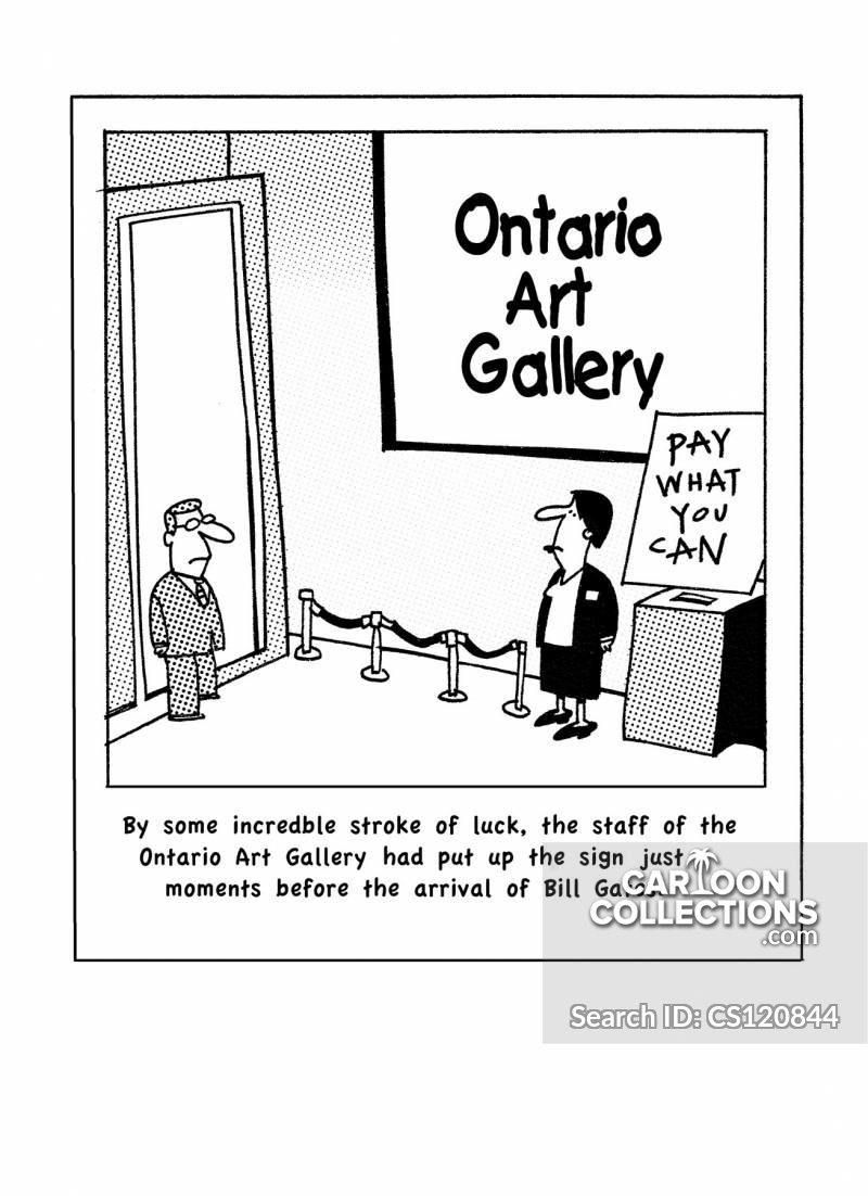 ontario art gallery cartoon