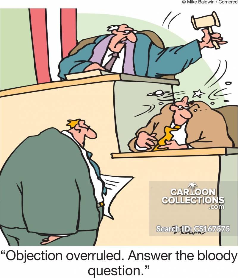 objection overruled cartoon