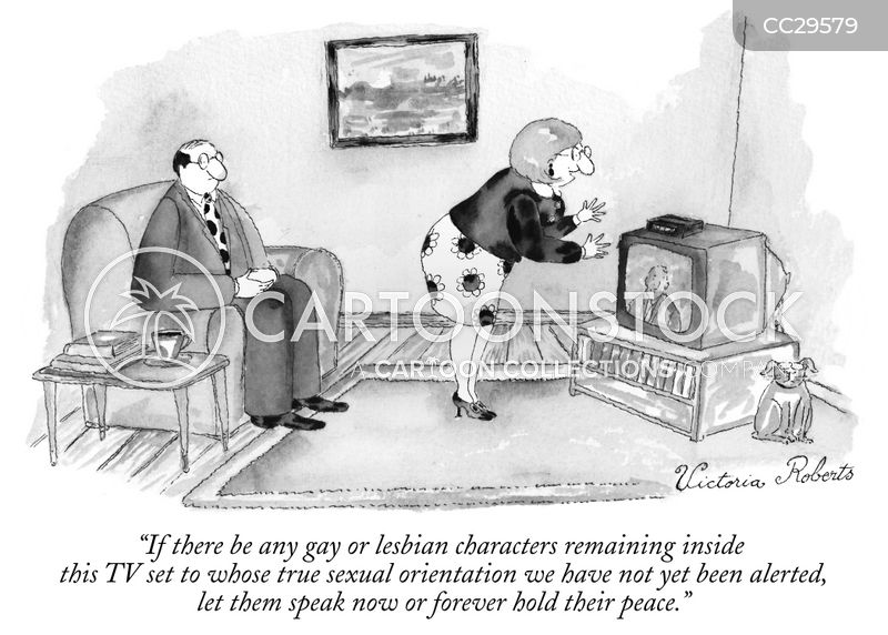 sexual orientation cartoon