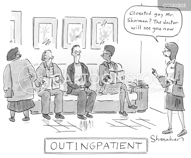 waiting rooms cartoon