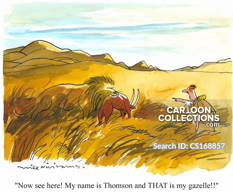 joseph thomson cartoon