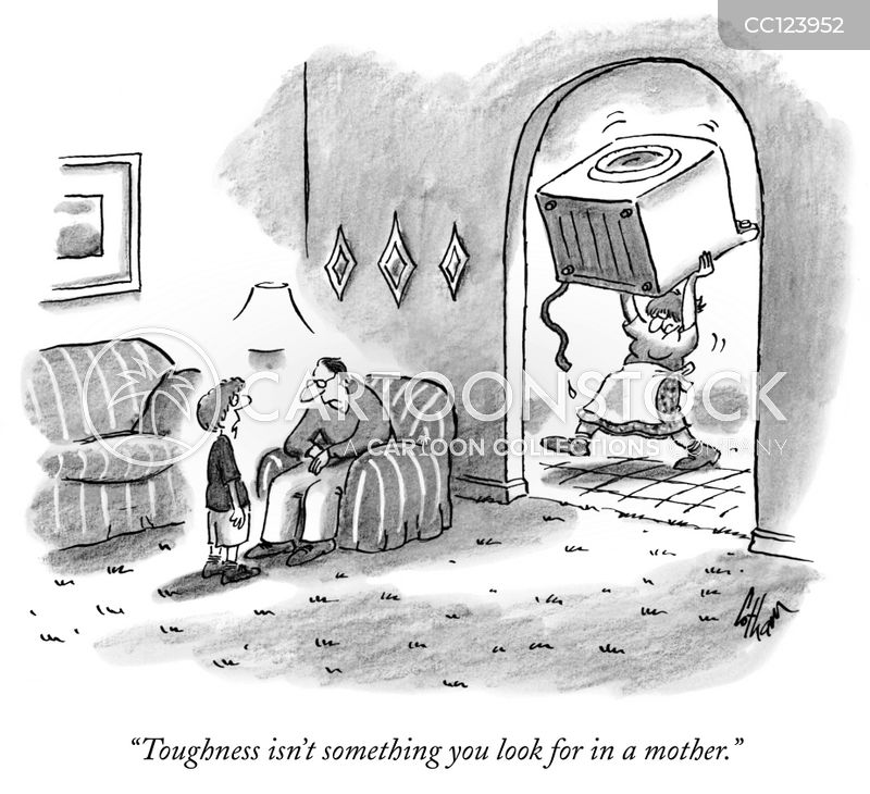 household chores cartoon