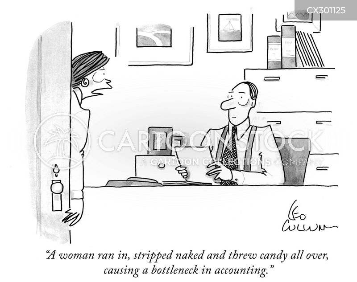 the glass ceiling cartoon