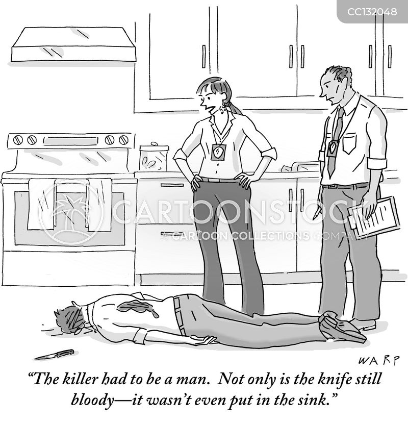 Knives cartoon