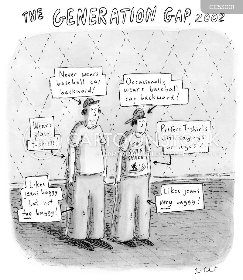 generation z cartoon