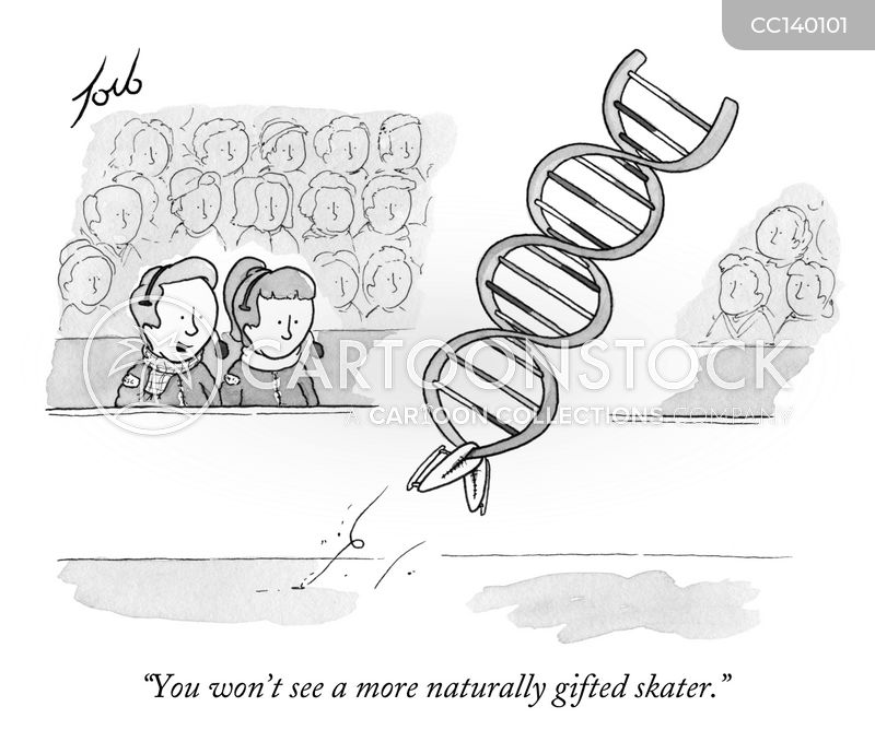 scientific cartoon