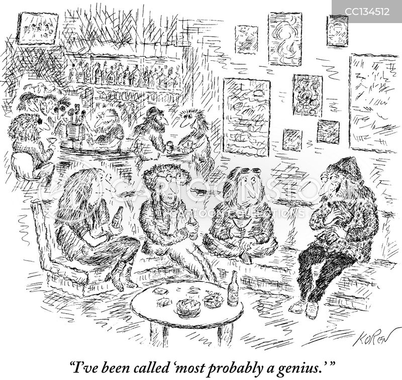 gossiping cartoon