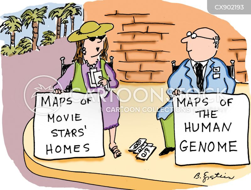 molecular biologists cartoon