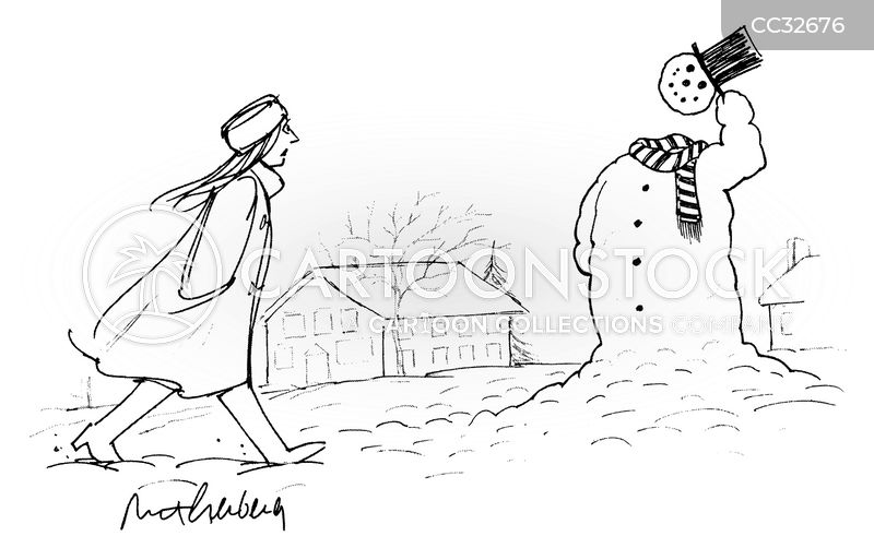 snowman cartoon