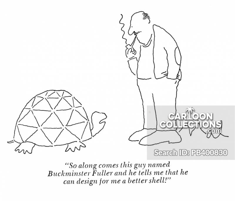 American Architect cartoon