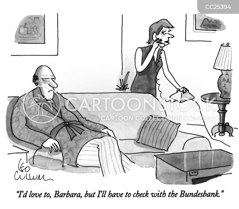 Banking cartoon