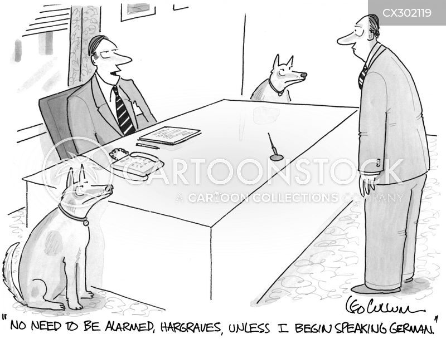 guard dogs cartoon