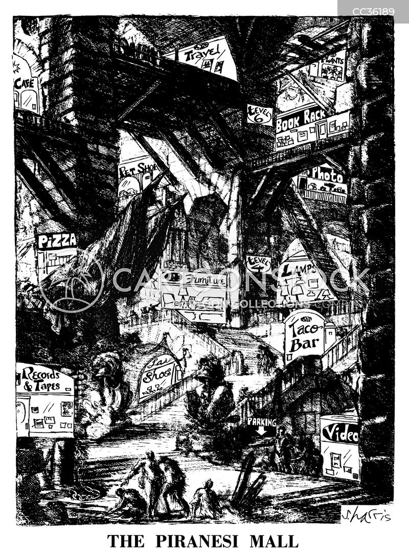 giambattista piranesi cartoon