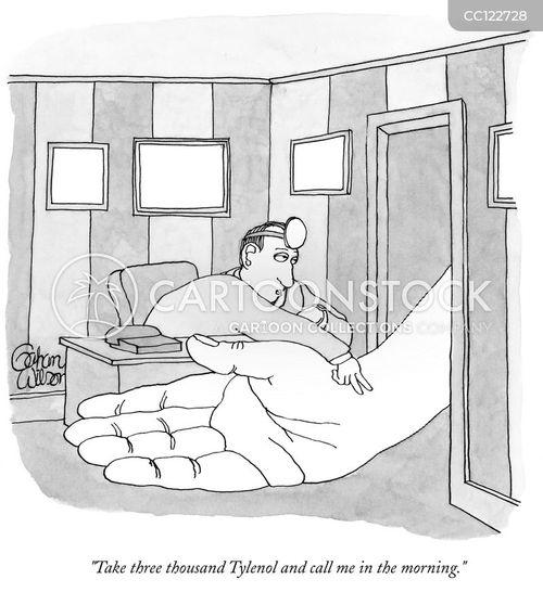 under react cartoon