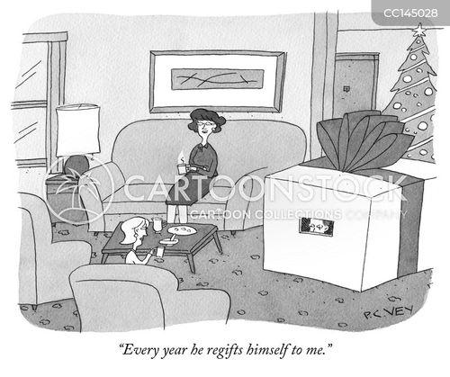 regifting cartoon