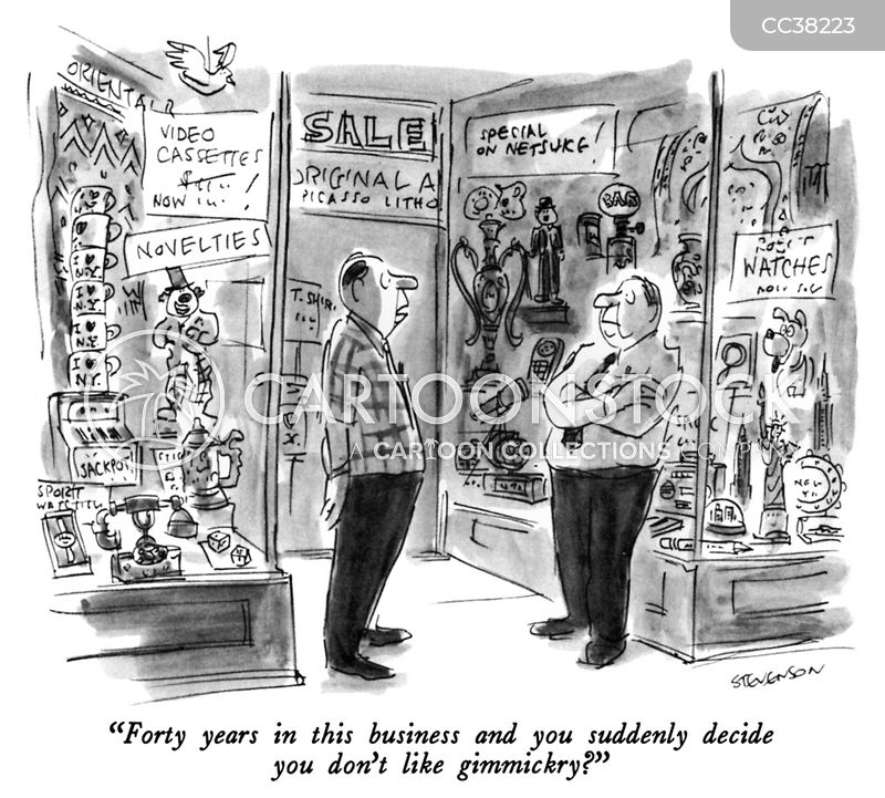 junk shops cartoon