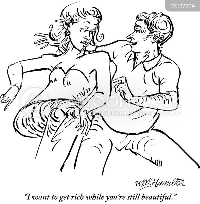 gold diggers cartoon