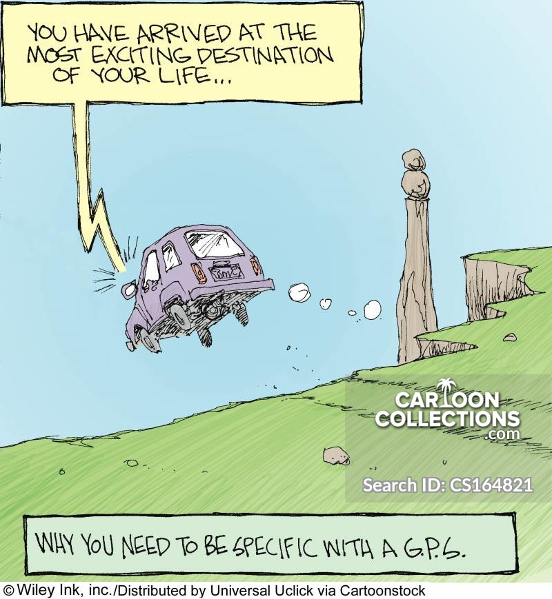 Cliff Edge cartoon