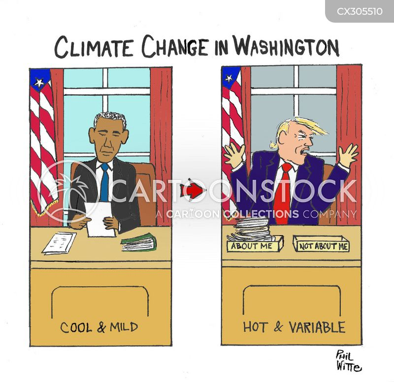 environmental issue cartoon