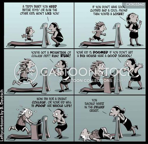 social expectation cartoon