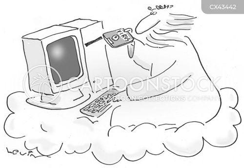 cpu cartoon