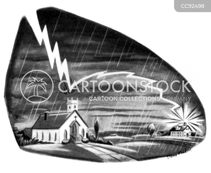 storming cartoon