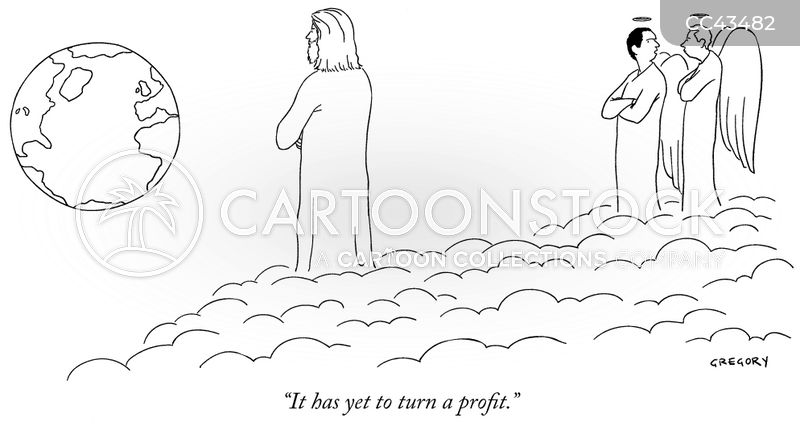 Angel Investor cartoon