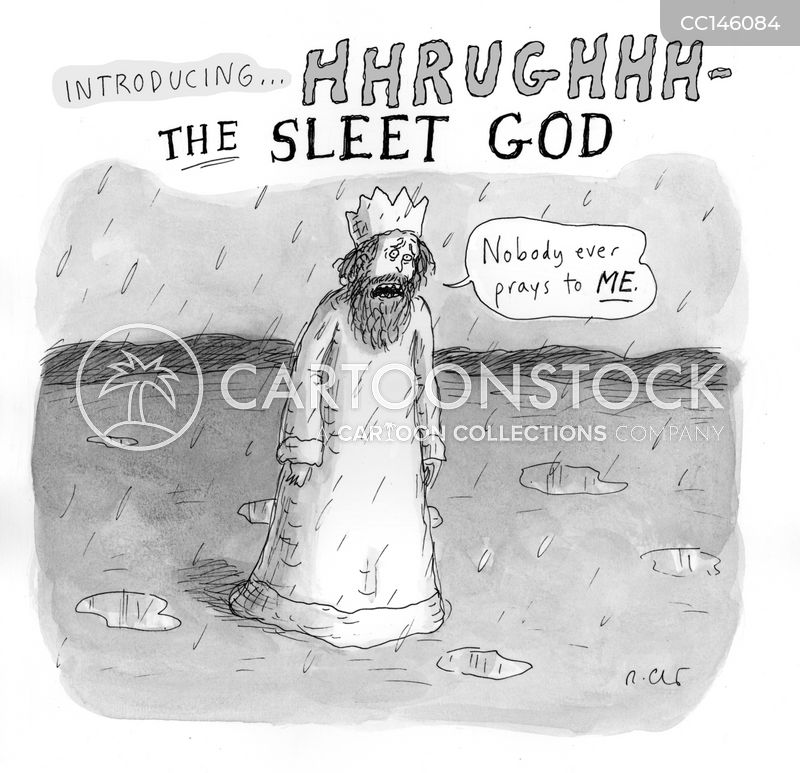 praying for rain cartoon